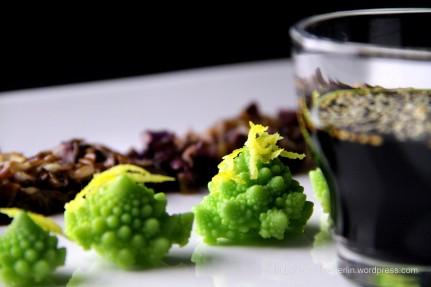 Romanesco broccoli Asian style