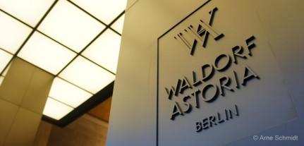 Waldorf Astoria - Berlin Tiergarten, January 2013