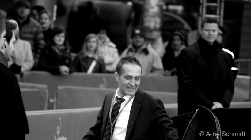"""Red Carpet: Actor Nazif Mujic presents """"An Episode in the Life of an Iron Picker"""" - 63rd Berlinale, Berlin, February 2013"""