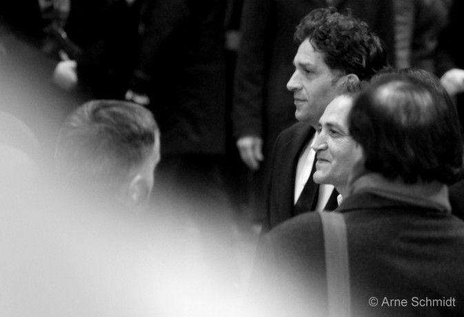 "Red Carpet: Actor Nazif Mujic and Director Danis Tanovic present ""An Episode in the Life of an Iron Picker"" - 63rd Berlinale, Berlin, February 2013"