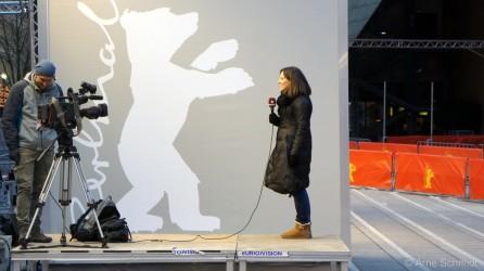 Preparations - 63rd Berlinale, Berlin, February 2013