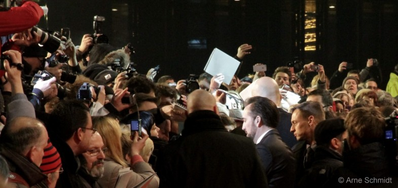 Spot Light - Nicolas Cage on the red carpet of 63rd Berlinale, February 2013