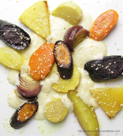 Oven-baked Winter Vegetables