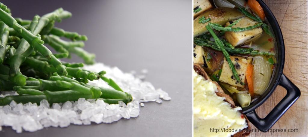Vegetarian Bouillabaisse with Salicornia