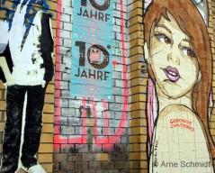 Street Art - Dircksenstraße, Berline Mitte, April 2013