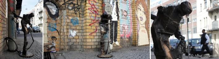 Lock-On by Danish artist Tejn - Dircksenstraße, Berlin Mitte, April 2013