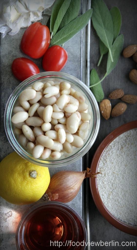 Ingredients for Summer Cassoulet