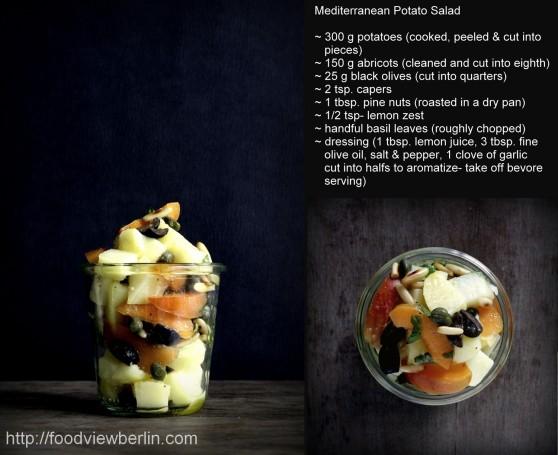 Mediterranean potato salad recipe