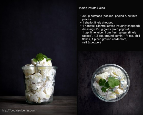 Indian potato salad recipe