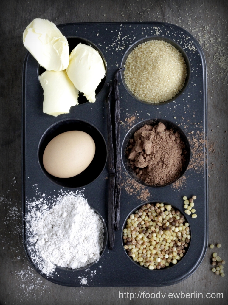 Ingredients for Pastéis de Nata with Fregola di Sarda