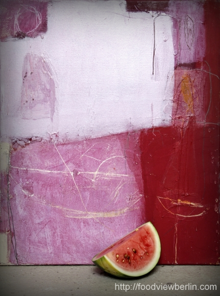 Painting by Constance Schrall @BLO Ateliers