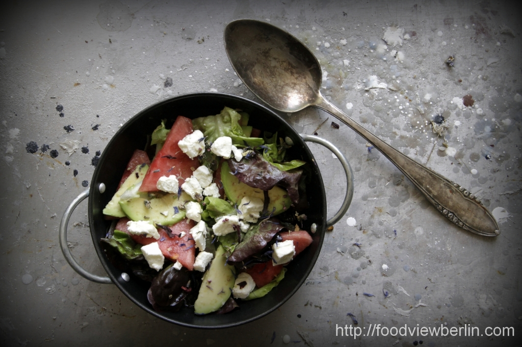 Food Paintings: Summer Salads