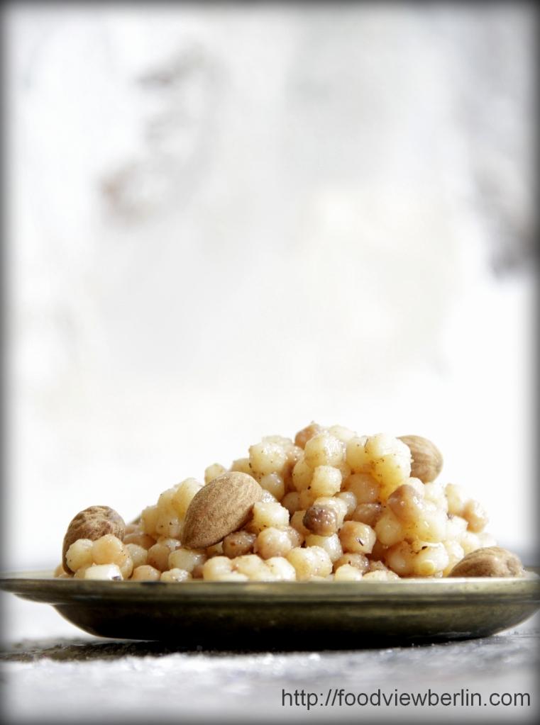Sweet Fregola Sarda Pastasotto