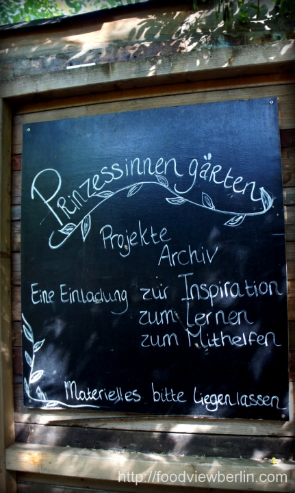 Prinzessinnengärten - Berlin Kreuzberg, August 2013