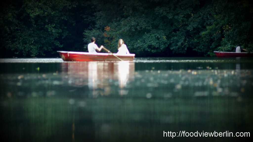 On the Water - Berlin Tiergarten, August 2013