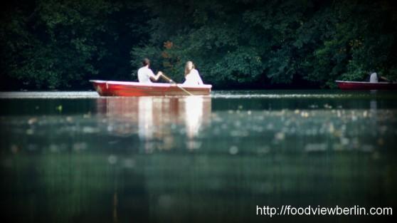 On the Water - Berlin Tiergarten, August 2013