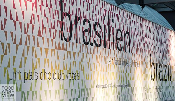 Brazilian Pavillon at Frankfurt Book Fair 2013
