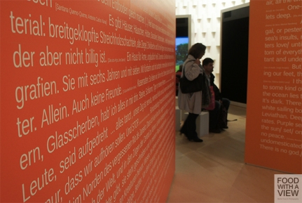Brazilian Pavillon at Frankfurt Book Fair 2013