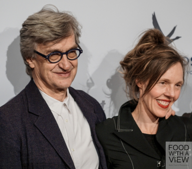 Donata & Wim Wenders Medienboard Berlin-Brandenburg Reception @ Berlinale 2015
