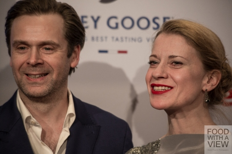 Matthias Matschke & Caroline Peters Medienboard Berlin-Brandenburg Reception @ Berlinale 2015