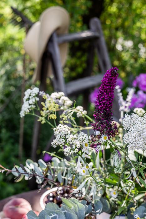 summer, garden, flowers